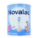 Acheter NOVALAC 2 Lait en poudre 2ème âge B/800g à NICE